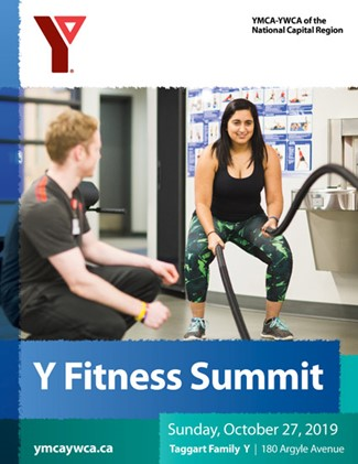 fall 2019 fitness summit brochure cover